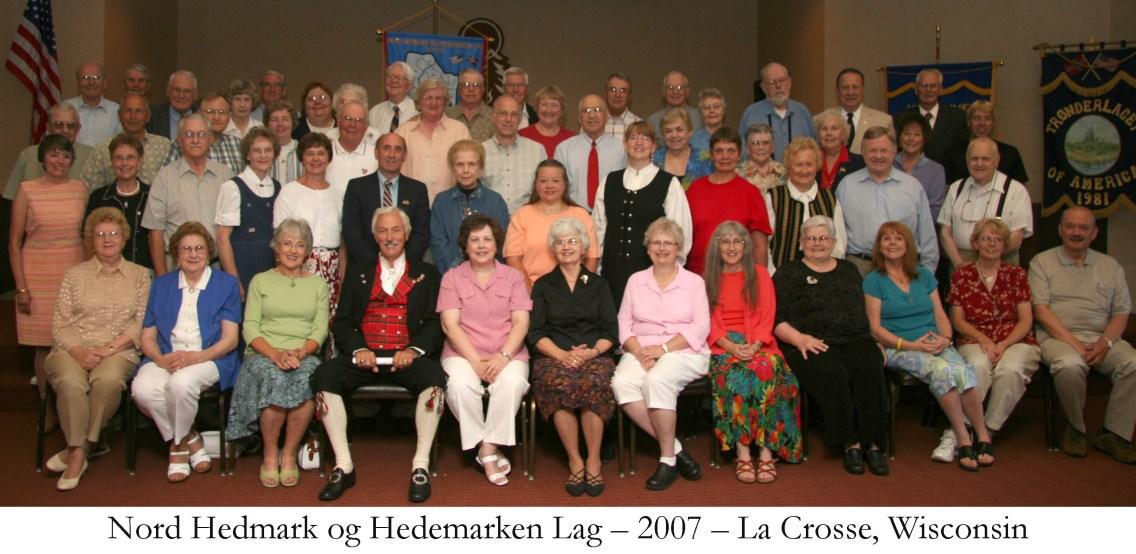 Nord Hedmark og Hedemarken Lag 2007 La Crosse Wisconsin