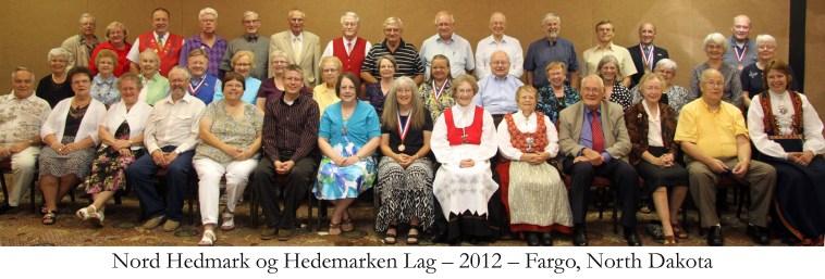 Nord Hedmark og Hedemarken Lag 2012 Fargo North Dakota