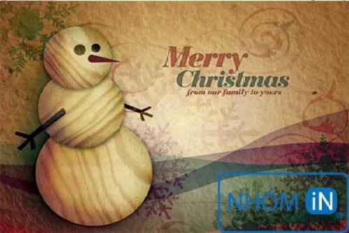 Nhắn gửi yêu thương qua thiệp chúc mừng giáng sinh và năm mới2