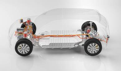 EV X-ray Powertrain Side - NH Research (NHR)