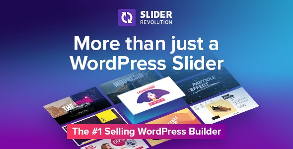 Slider Revolution Responsive WordPress slider Plugin