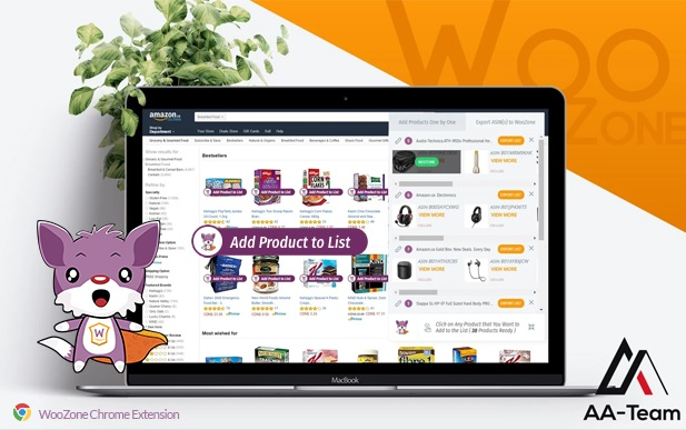 Woozone Amazon Affiliate Plugin product list