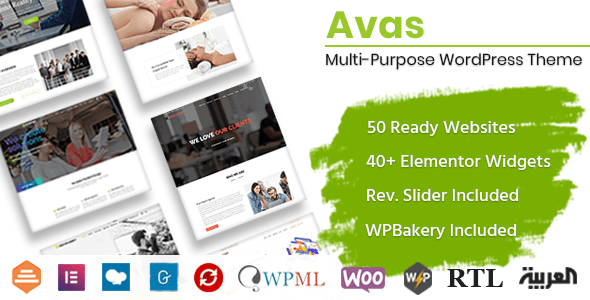 Avas Elementor WordPress Theme