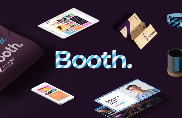 Booth - Event and Conference WordPress Theme welcome