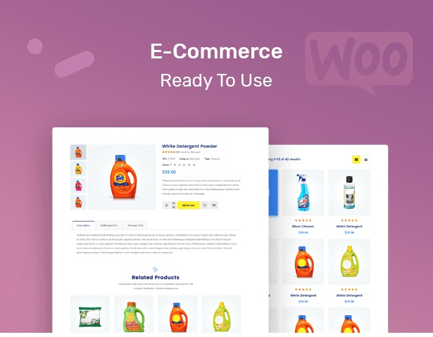 Clenix - Cleaning Services WordPress Theme woocommerce