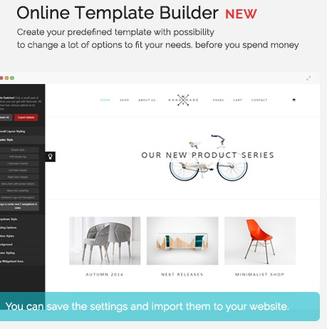 Specular - Multi-Purpose WordPress Business Theme online template builder