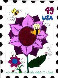 USPS Postage Stamp by Alexis