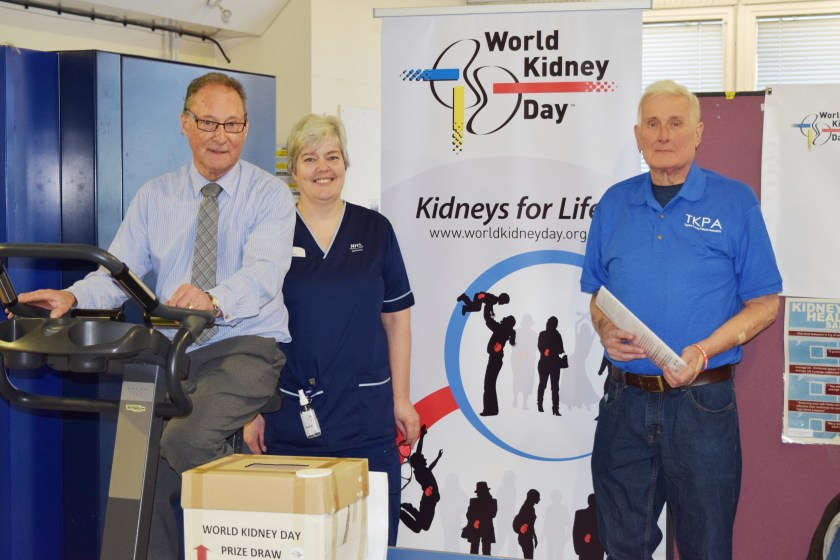NHS Tayside supports World Kidney Day