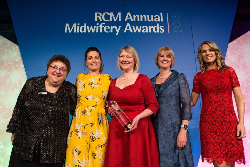 MAIN NHS Tayside midwives deliver success in national awards.jpg