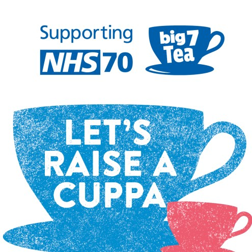 Celebrate 70 years of the NHS and have a NHS big 7Tea party!