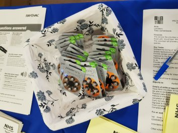 MAIN Volunteers host drop-in event for hearing aid users (3)