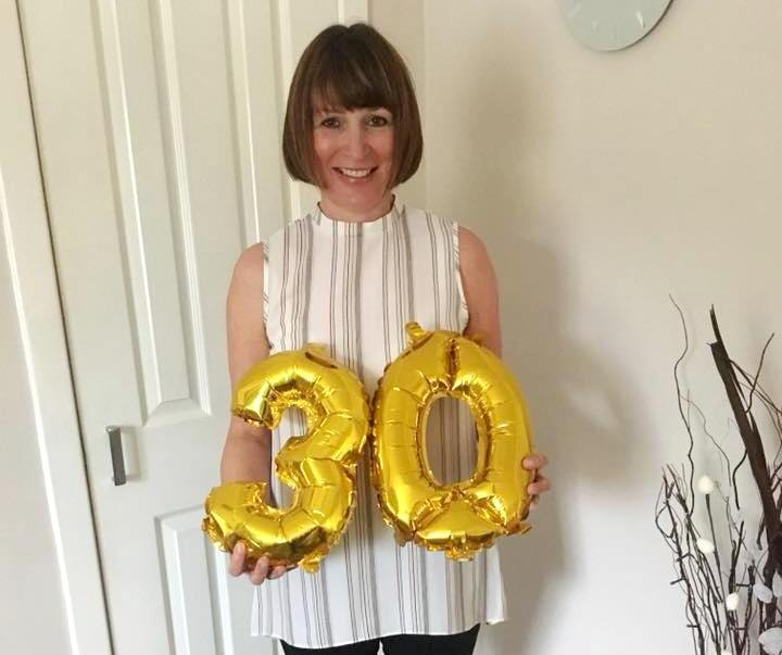 MAIN Elaine celebrates 30 years at Dundee Dental Hospital.jpg