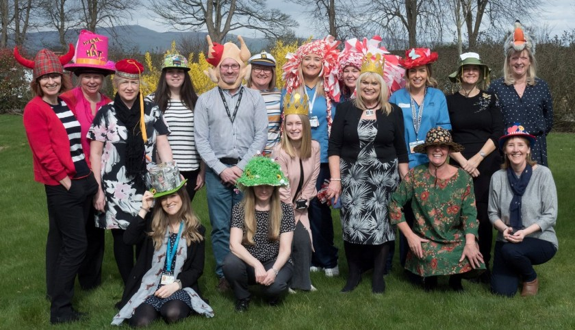 02-04-2019 Hats off to team at Kingsway Care Centre for charity fundraiser (1)