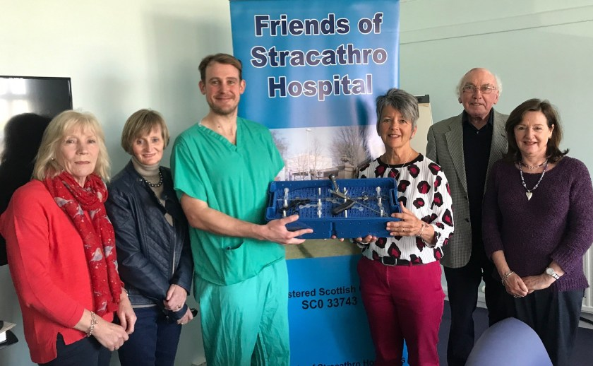 MAIN Check it Out - Friends of Stracathro donates VAAFT equipment
