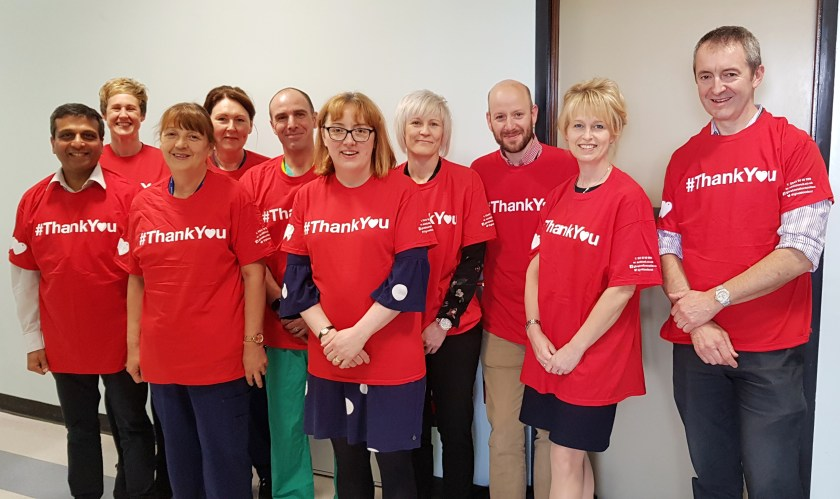 MAIN NHS Tayside supports World Blood Donor Day (5) Operational Leadership Team