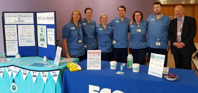MAIN Raising awareness of infection prevention and control