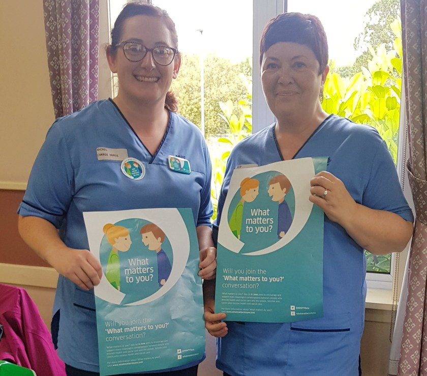 MAIN Tayside staff ask 'What matters to you' - Angus Macmillan Day Services