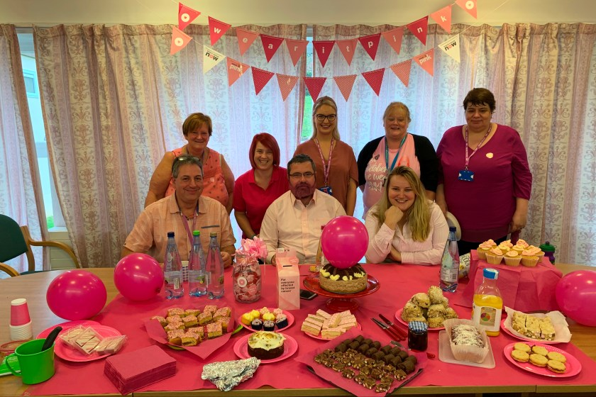 NHS Tayside supports 'Wear It Pink' Day - PRI2