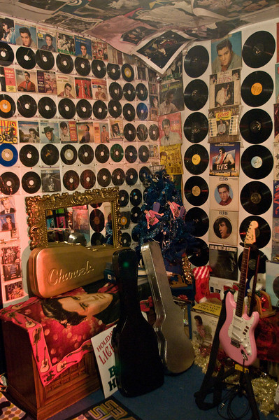 A tiny, tiny sample of Paul's record collection