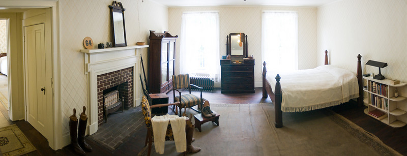 Faulkner's bedroom