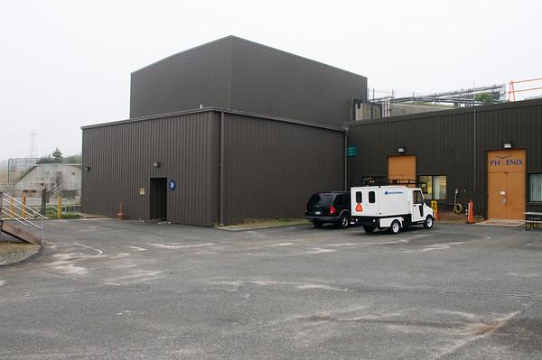 The buildings that house RHICs PHENIX detector.