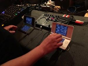 無限軌道 with 2 x DS-10 + KAOSS DJ