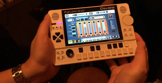 KDJ-ONE (mixer screen)