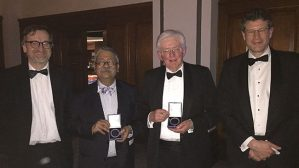 Prof. Tipu Aziz wins Medal of the Society of British Neurological Surgeons