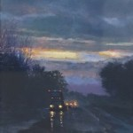 "Barbara Gentner Stephenson, ""Highway Knight"", pastel"