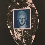 """The Goddess Juno"" photography/cyanotype/mixed media, by Todd Hoover"
