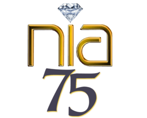 Northern Indiana Artists 75th Anniversary logo