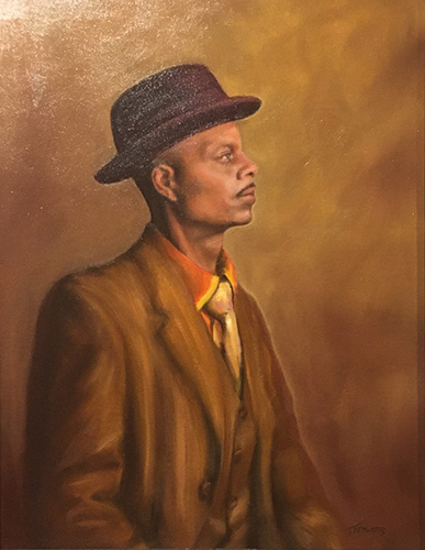 Curator_A Man With Style_Fehlner_Oil on Canvas