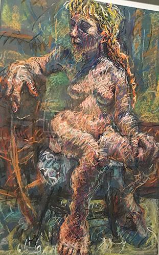 Curator_Healy_Noel Figure Study_Pastel