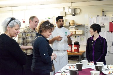 The team at Willow Cakes let us into their kitchen for a behind the scenes