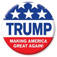 trump button