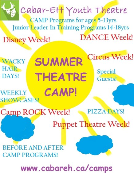 summer camp ad for guide