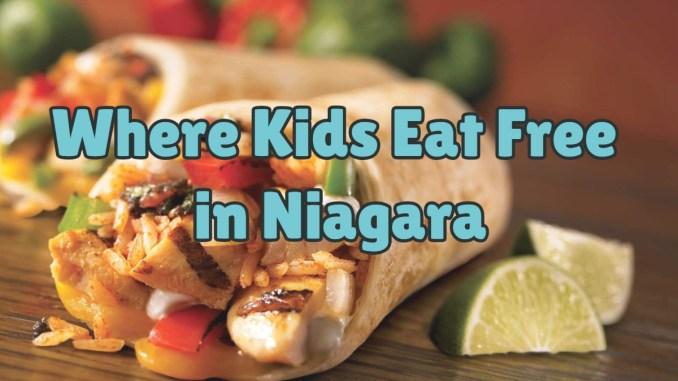 kids eat free in niagara