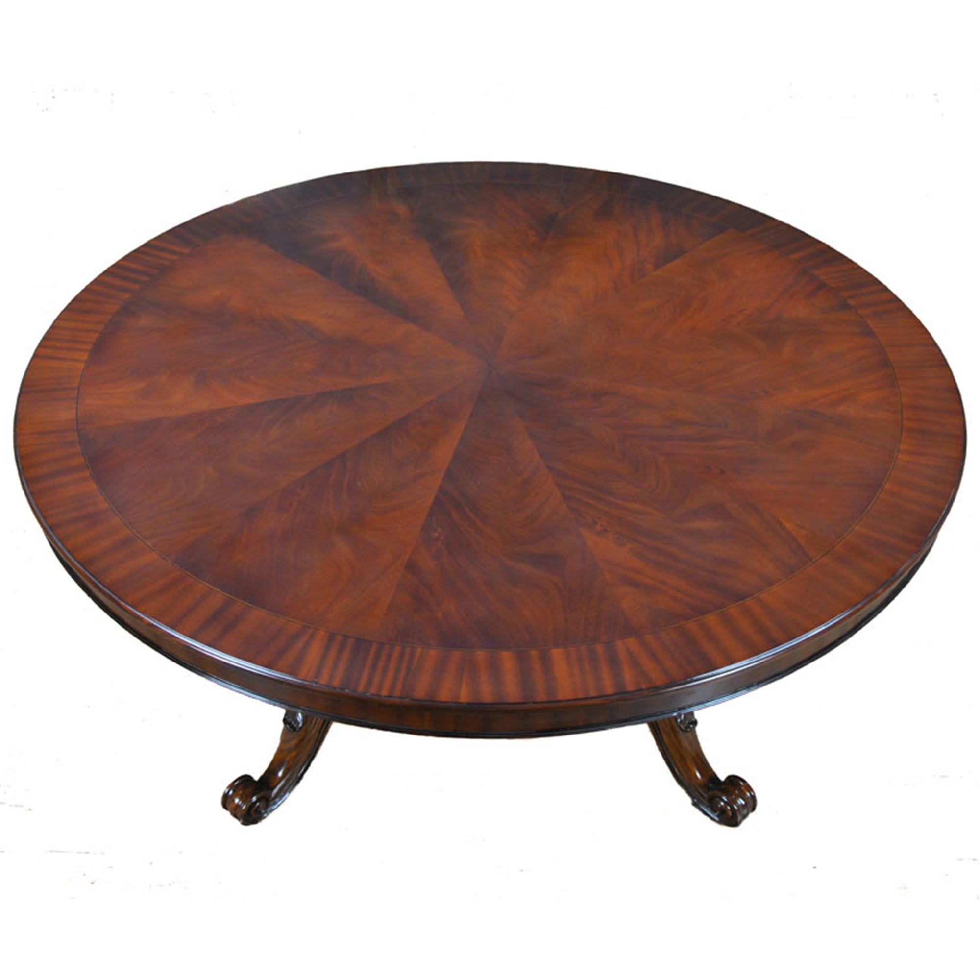 72 Inch Round Table Niagara Furniture Round Mahogany Table
