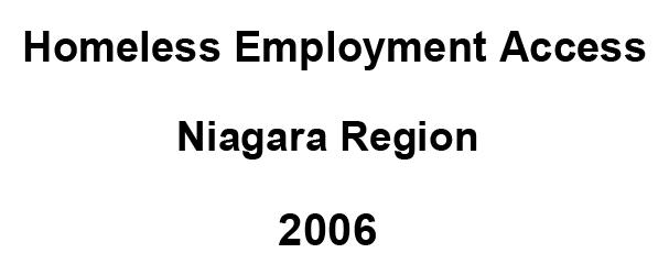 Homeless Employment Access