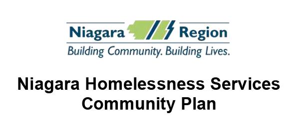 Niagara Homelessness Services Community Plan