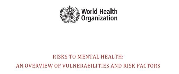 Risks to Mental Health