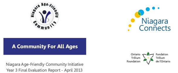 Niagara Age Friendly Community Initiative Year 3 Final Report