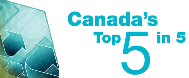 Canada's Top 5 in 5