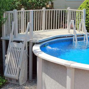 above ground pool decks niagara pool