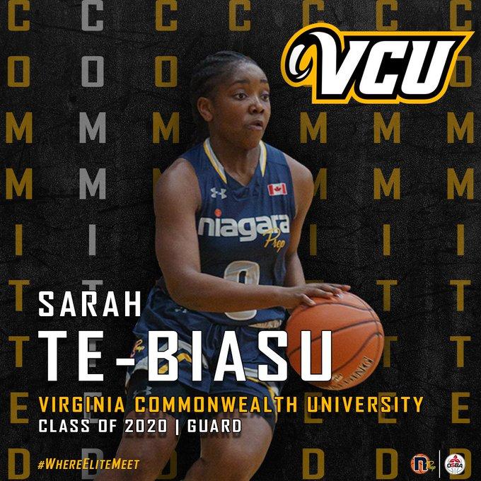Sarah Commit Pic - VCU 2019
