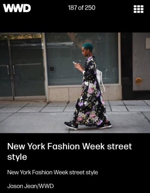 WWD Street Style, http://wwd.com/fashion-news/street-style/gallery/they-are-wearing-new-york-fashion-week-spring-10533976/#!123/new-york-fashion-week-street-style-559