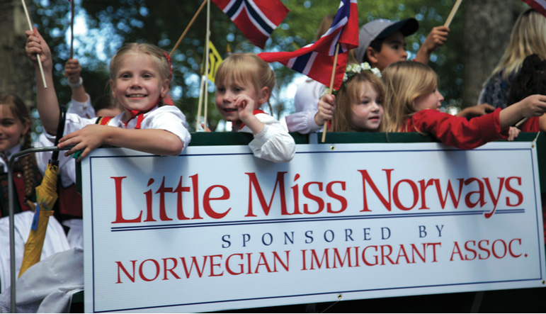 Little Miss Norway & Cadets