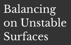 BOUS Balancing on Unstable Surfaces Blog Logo