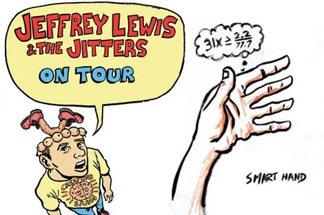 , Jeffrey Lewis and the Jitters tonight
