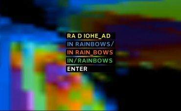 , Fan Cover art for <em>In Rainbows</em>